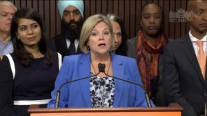 Andrea Horwath says she 'remains concerned' with Ford government